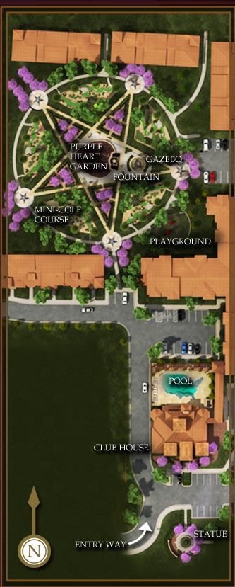 map of amenities